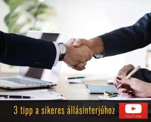 3 tipp sikeres állásinterjúhoz